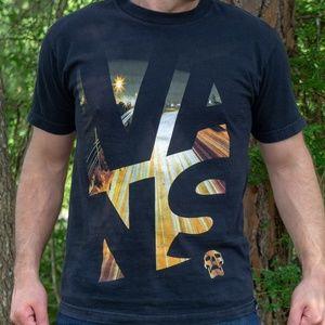 VANS  Logo Tee (black)